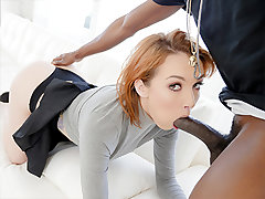 Emily Blacc is a uber-sexy dark haired with a dipshit boyfriend. When she learns that he's been cheating on her, her first thoughts turn to revenge. What nicer way to get revenge than thru porn? And who nicer to plow than her boyfriend's roommate? In a sh