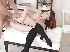 Lovenia can't believe her first-ever assfucking date is going so well. Maybe it's because Derek is so hot and makes her so horny, maybe it's her current mood and maybe it's just the brilliant moment to attempt assfucking hookup for the highly first-ever t